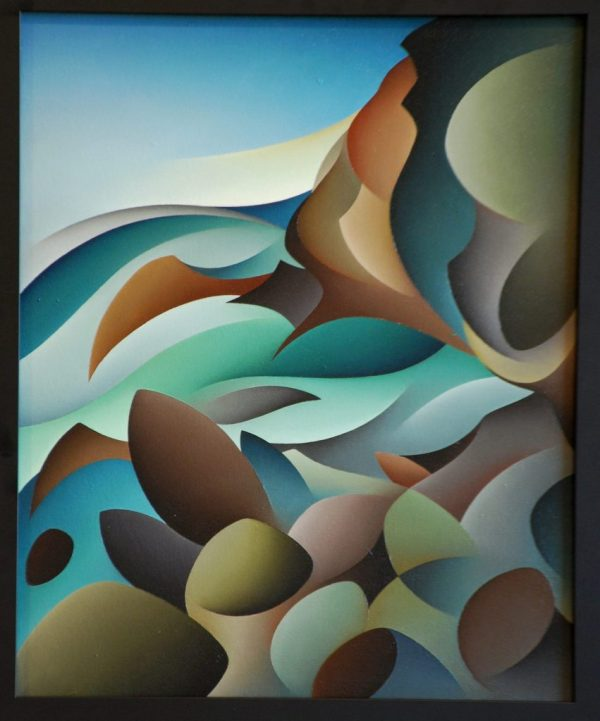 Carl Foster Tidal Visions - Enander Galleries