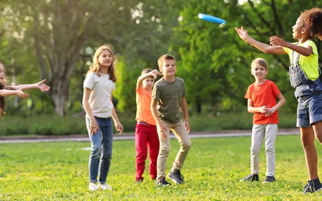 Ti- bietet in den Ferien Gechicklichkeitsparcour im Hemshofpark an!