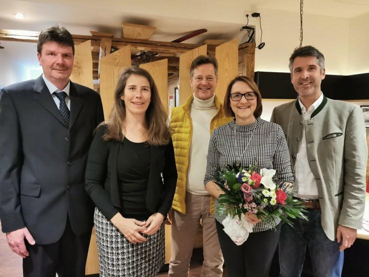 Verabschiedung von Elisabeth Krauth als Vorsitzende