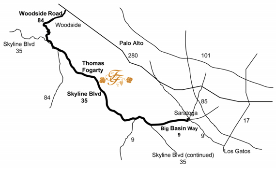 Visit · Thomas Fogarty Winery