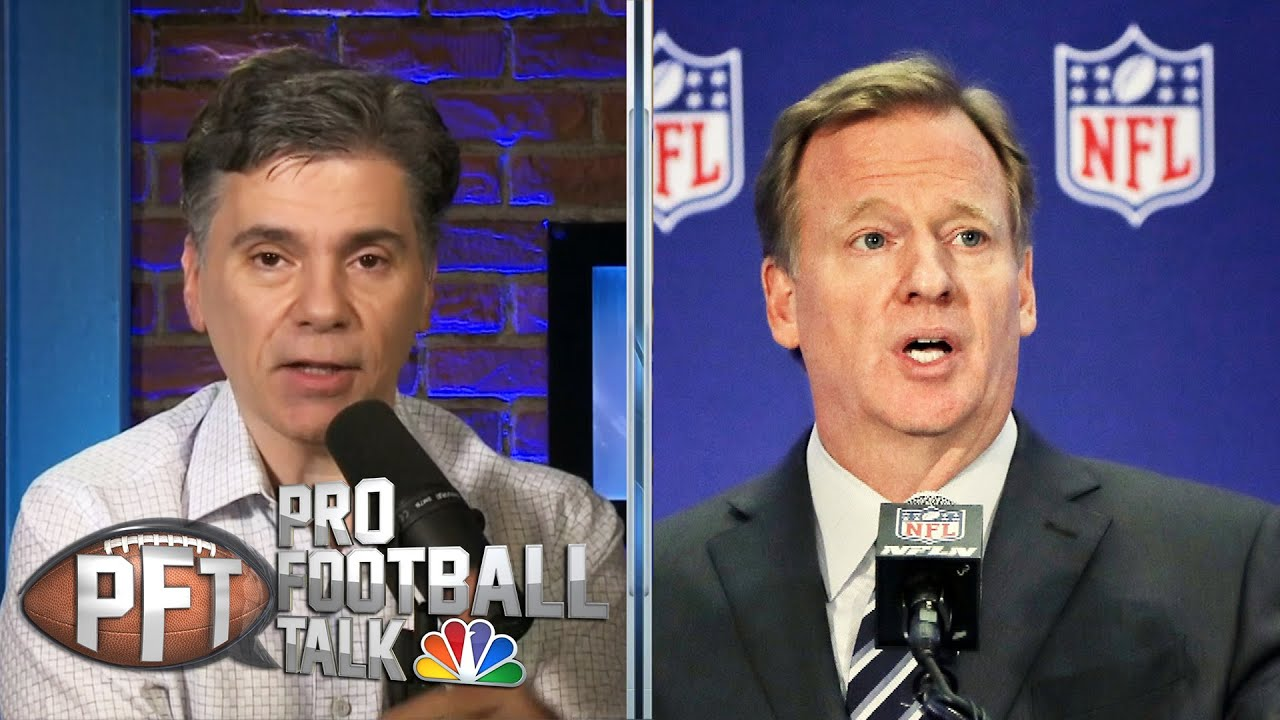 Donald Trump's response to Roger Goodell not end of national debate | Pro Football Talk | NBC Sports - FOGOLF
