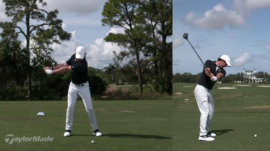 Rory McIlroy's 3-Wood Swing | TaylorMade Golf - FOGOLF