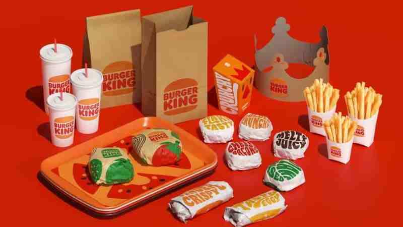 burger king logo tasarımı