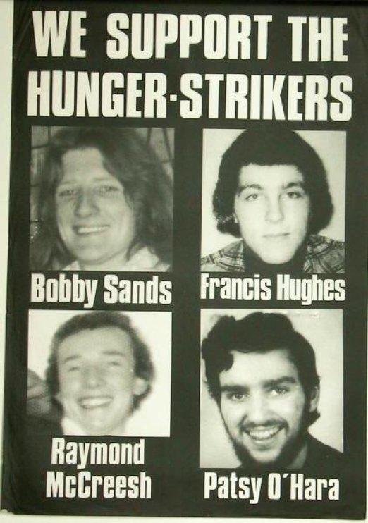 açık grevi Bobby Sands