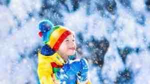 kar yiyen çocuk