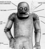 drawing of the robot