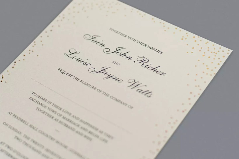 Find The Perfect Wedding Invitation Wording For You
