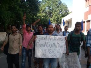 BAPSA demo Delhi