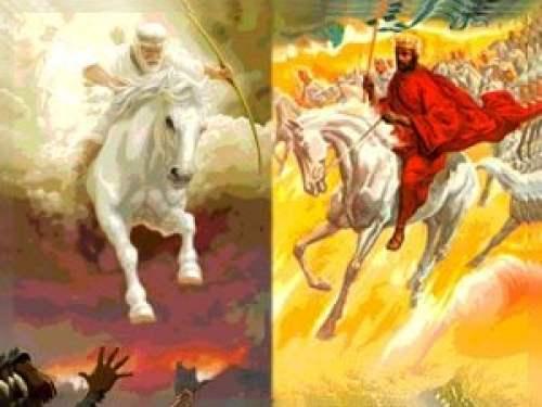 Penunggang kuda putih