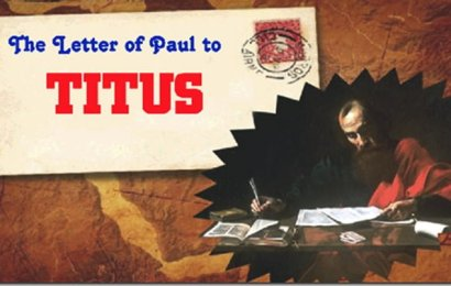 SURAT TITUS: PENTINGNYA MENGETAHUI TEOLOGI PAULUS DALAM SURAT TITUS