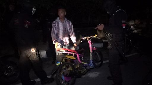 Polres Boyolali Amankan 10 Sepeda Motor Diduga Untuk Balap Liar Di