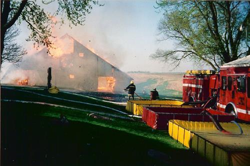 ORION BARN FIRE TRAINING