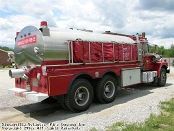 RICHEYVILLE VOLUNTEER FIRE COMPANY