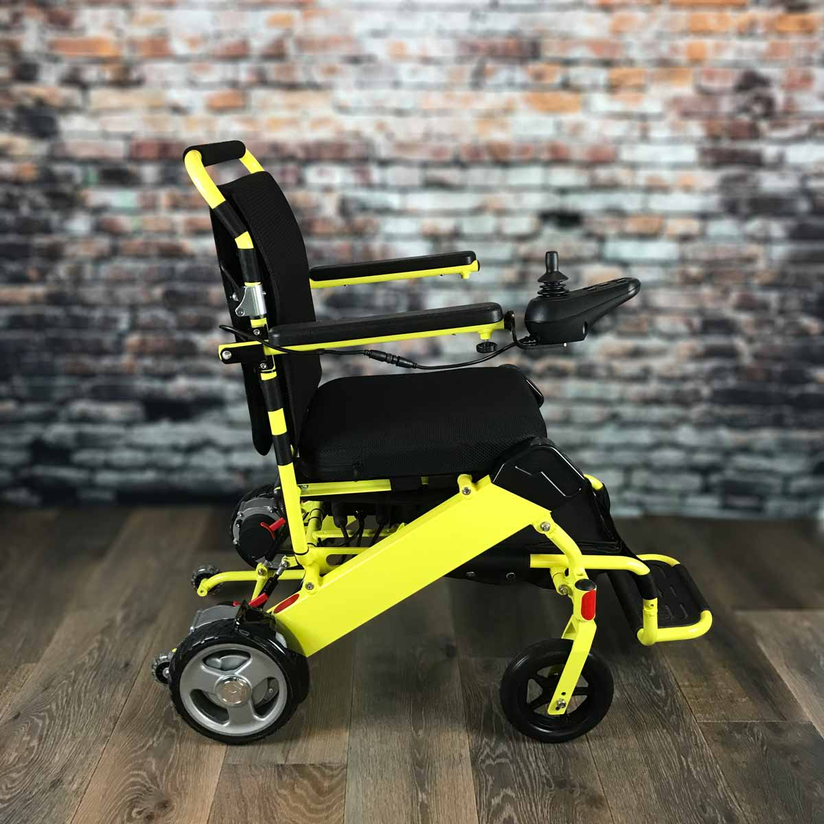 yellow wheelchair chair accessories lahore regular fold go electric