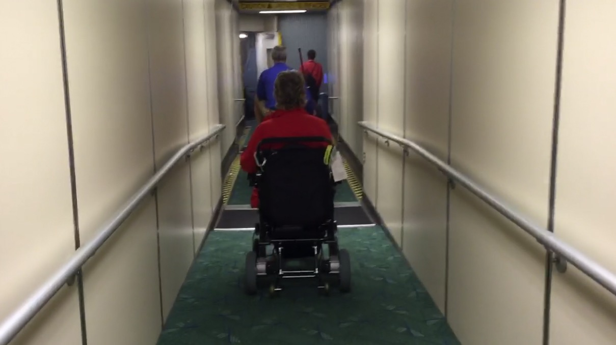 Taking your Electric Wheelchair to the Airport