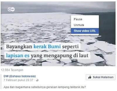 Cara Menyimpan Video Dari Facebook Ke Komputer Tanpa Software