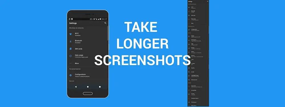 Cara Membuat Screenshot Panjang Di Android (Long/Scroll Screenshot)