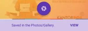cara screenshot panjang halaman web di android
