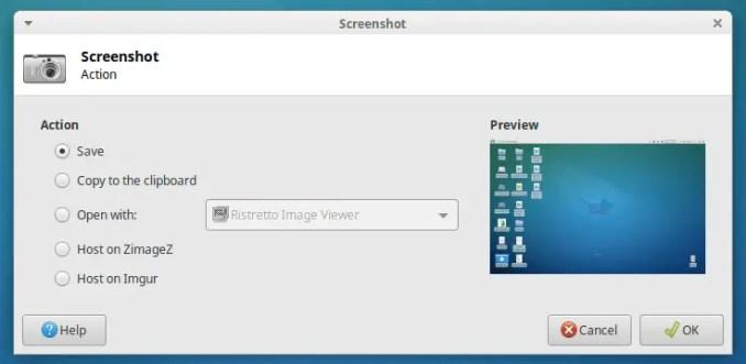 Mengambil Screenshot Layar Linux Ubuntu