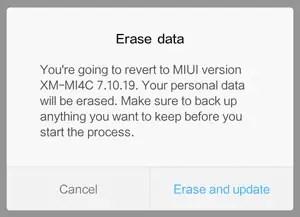 Meng-update ROM melalui metode System Update dan Recovery Update