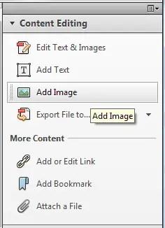 Memasukkan File Video, Gambar, Audio ke PDF