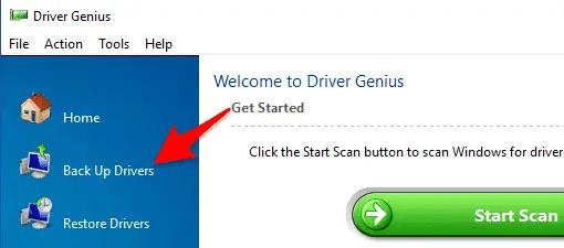 Cara Backup Restore Driver Dengan Menggunakan Driver Genius Pro