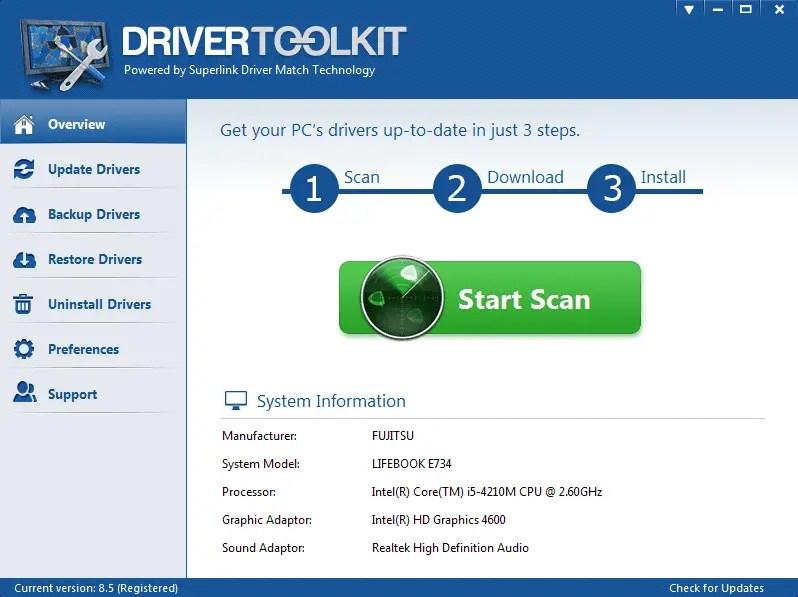 Mencari Driver Yang Cocok Menggunakan Aplikasi DriverToolKits