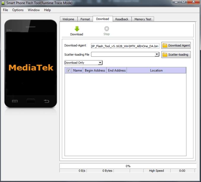 Cara Flash HP Android MediaTek (MTK) dengan SP Flash Tool