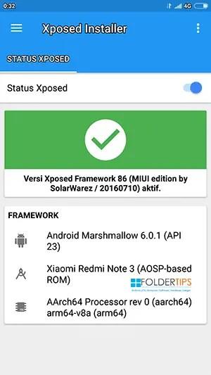 Cara Pasang (Install) XPosed Framework Redmi Note 3 Pro MIUI 9