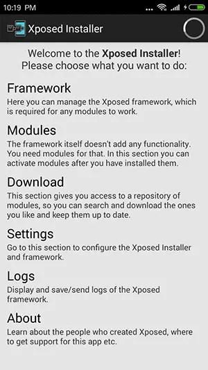 Pasang XPosed Framework Dengan ROM Kitkat