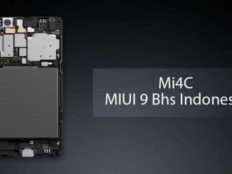 Cara Flashing Mi 4C ke ROM MIUI 9 Bhs Indonesia Tanpa UBL dan TWRP