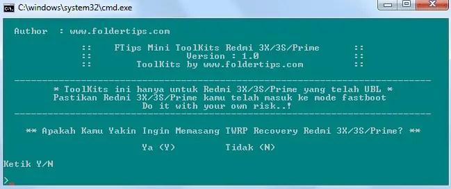 toolkit twrp redmi 3x/3s/prime