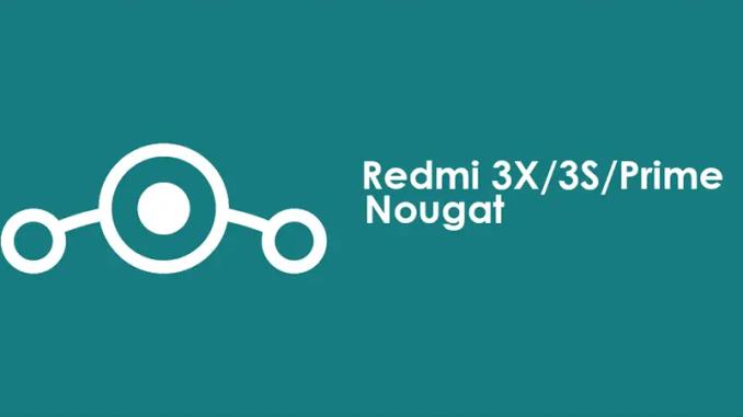 Cara Update Redmi 3S/Prime/3X (Land) Ke ROM Nougat LineAgeOS