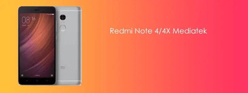 Cara Pasang / Install TWRP dan ROOT Redmi Note 4/4X MTK (Nikel)