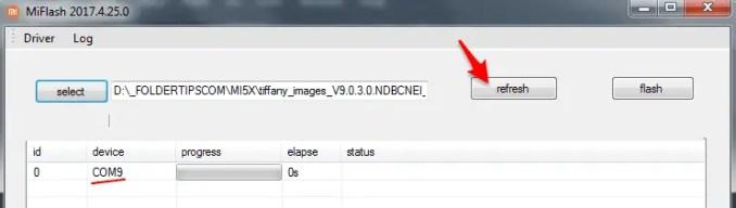 Cara Flash ROM MIUI 9 v9.0.3.0 Stable Mi 5X (Tiffany) Oxygen Bootloader