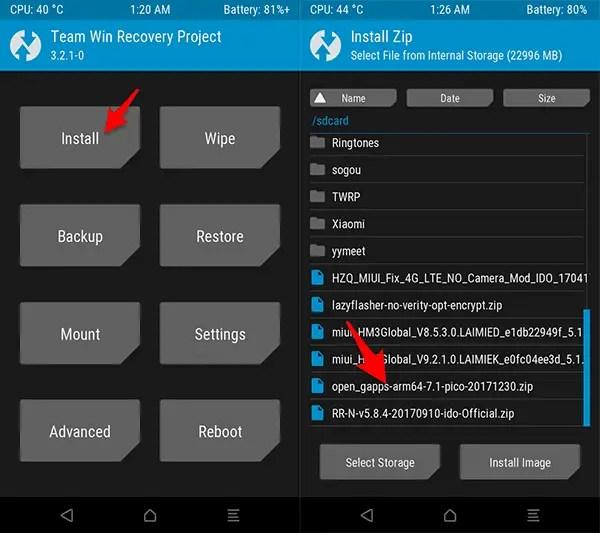 Cara Update ROM Nougat Redmi 3/3 Pro (Ido) Resurrection Remix