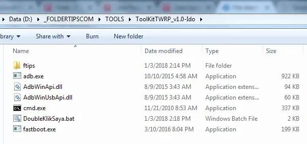 Cara Pasang TWRP Official 3.2.1-0 Redmi 3/3 Pro (Ido) UBL