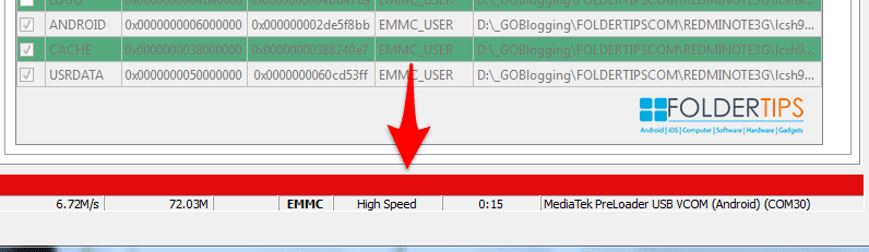 "Pasang ROM ""Global"" MIUI 9 Redmi Note 3 MTK Tanpa UBL (SP Flash Tools)"