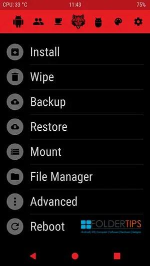 Cara Pasang TWRP RedWolf Redmi 3X/3S/Prime (RAM 2GB/3GB)