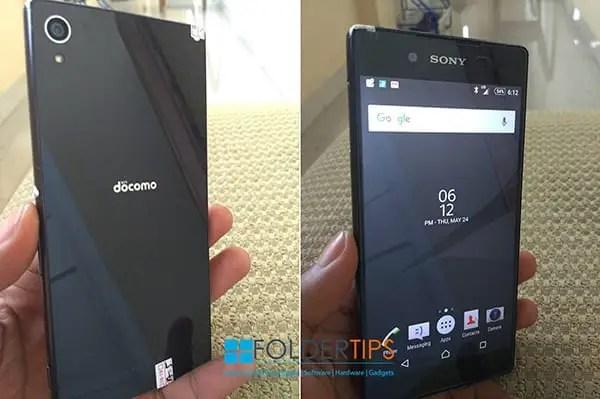Perbedaan Antara Sony XPeria Docomo dengan Versi Global