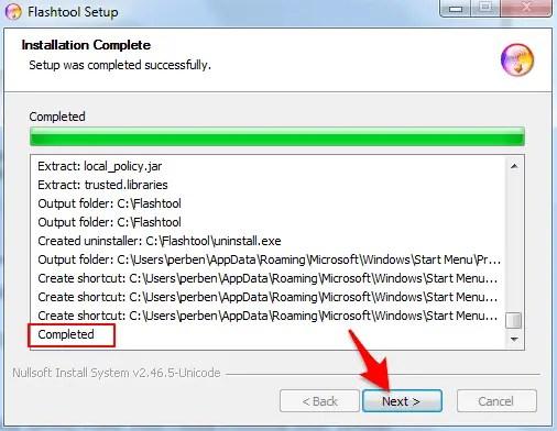 Cara Install / Pasang XPeria Flash Tool Untuk Flashing Sony XPeria