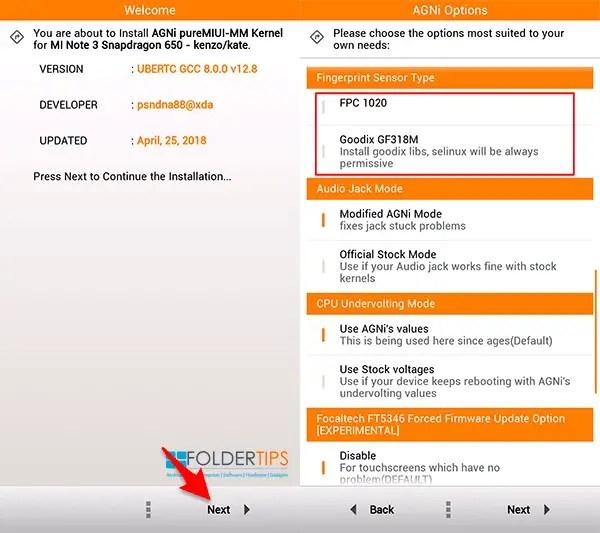 Cara Pasang AGNi Kernel Redmi Note 3 Pro. Suara Jernih. DT2W dan Fast Charging [Kenzo] | F-Tips