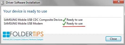 Cara Memasang / Install Samsung Android USB Driver Di Laptop/PC Windows