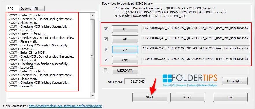 Cara Flash / Install Firmware HP Samsung via ODIN [Semua Tipe] | F-Tips