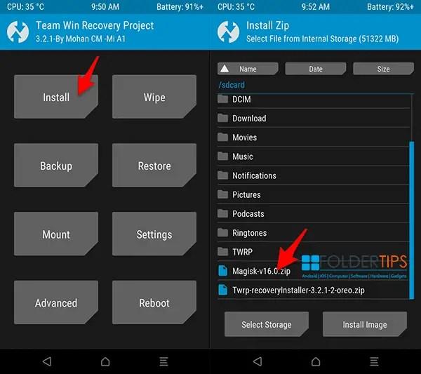 Cara Mudah Pasang / Install TWRP dan ROOT Mi A1 Oreo (Tissot)