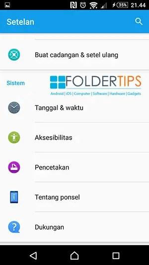Cara Menonaktifkan Mode Pengembang (Developer options) Semua Android