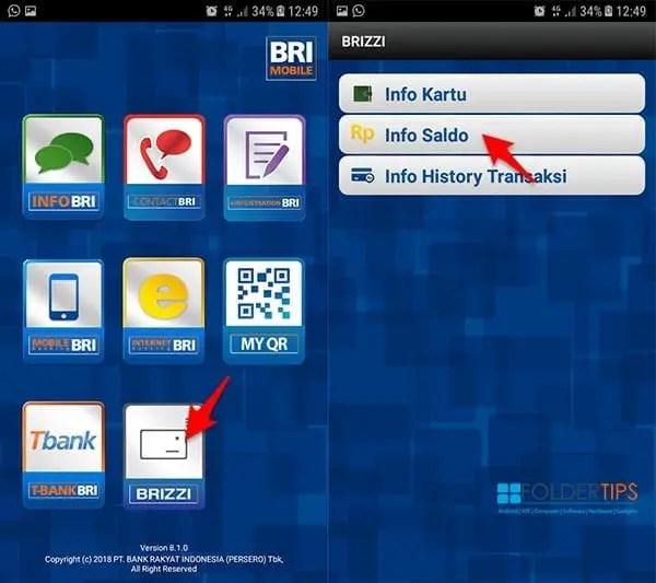 Cara Isi Ulang BRIZZI (E-Toll BRI) Via HP Android Berfitur NFC