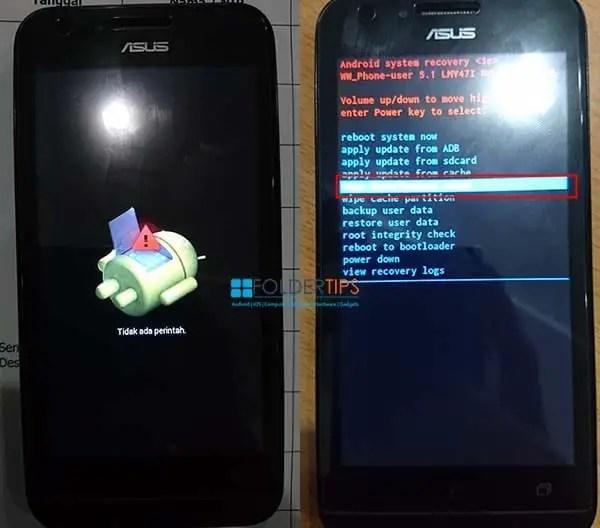 Cara Hard Reset / Masuk Recovery Asus Zenfone Go Mini Z00SD