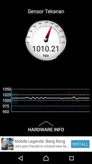Cara Cek Pressure, Tes HP Sony Xperia Tahan Air