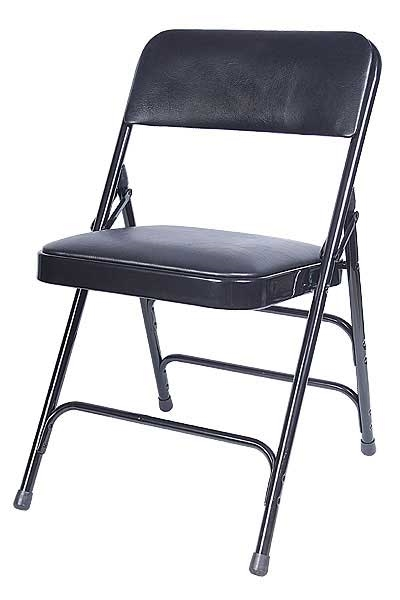 black padded folding chairs swivel jordans metal : | chair wholesale ...